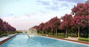 imagem artistica do parque privativo