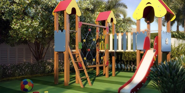 essenza moema-perspectiva-ilustrada-do-playground-com-brinquedo-multiuso