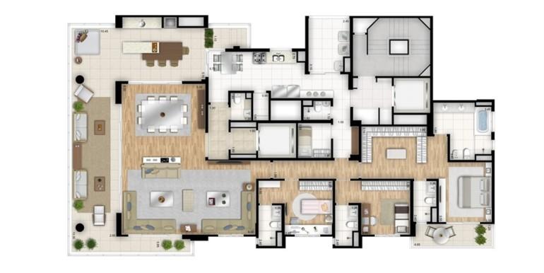 essenza moema-planta-tipo-opcao-3-suites-com-sala-de-banho-na-suite-master-sala-ampliada-torre-bianco