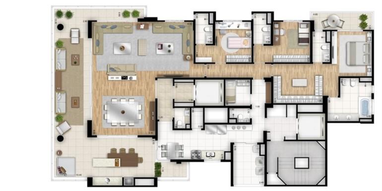 essenza moema-planta-tipo-opcao-3-suites-com-sala-de-banho-na-suite-master-sala-ampliada-torre-nero