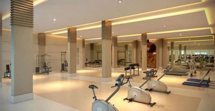 fitness center com orientadores