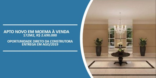 Le Premier Moema - apartamento novo em moema à venda